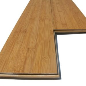1 lot 10m2 Parquet de bambou CROSS HORIZONTAL AMBRE 1960x159x15mm