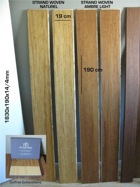parquet bambou flottant massif parquet densifi aiko parquet contrecoll strand woven. Black Bedroom Furniture Sets. Home Design Ideas