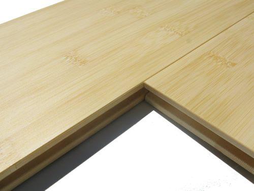 parquet de bambou lame large cross horizontal naturel. Black Bedroom Furniture Sets. Home Design Ideas