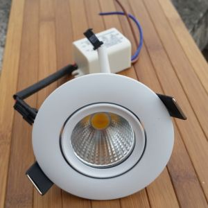 Spot COB LED Orientable 3 Watts 55mm