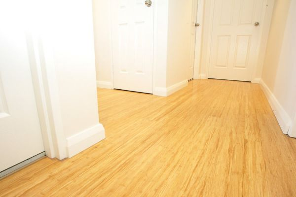parquet strand woven naturel clipser. Black Bedroom Furniture Sets. Home Design Ideas