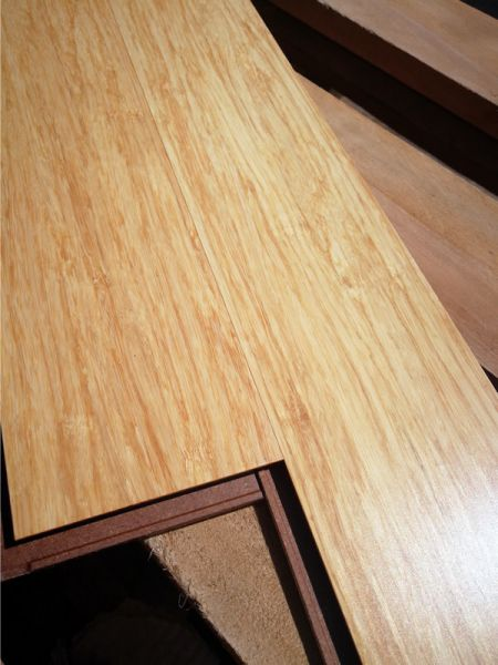 parquet contrecoll hdf strand woven 10 mm clipser naturel 890x98x10. Black Bedroom Furniture Sets. Home Design Ideas
